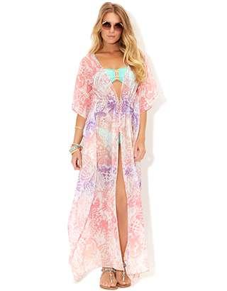 vestido look playa