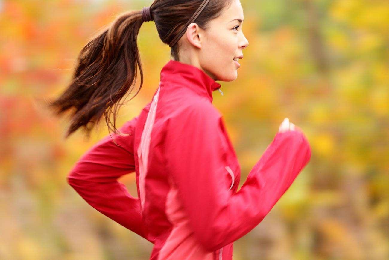belleza mujer - running