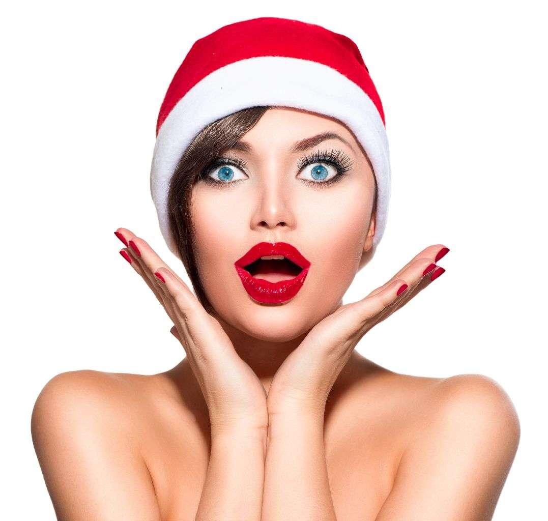 mascarillas caseras navidad