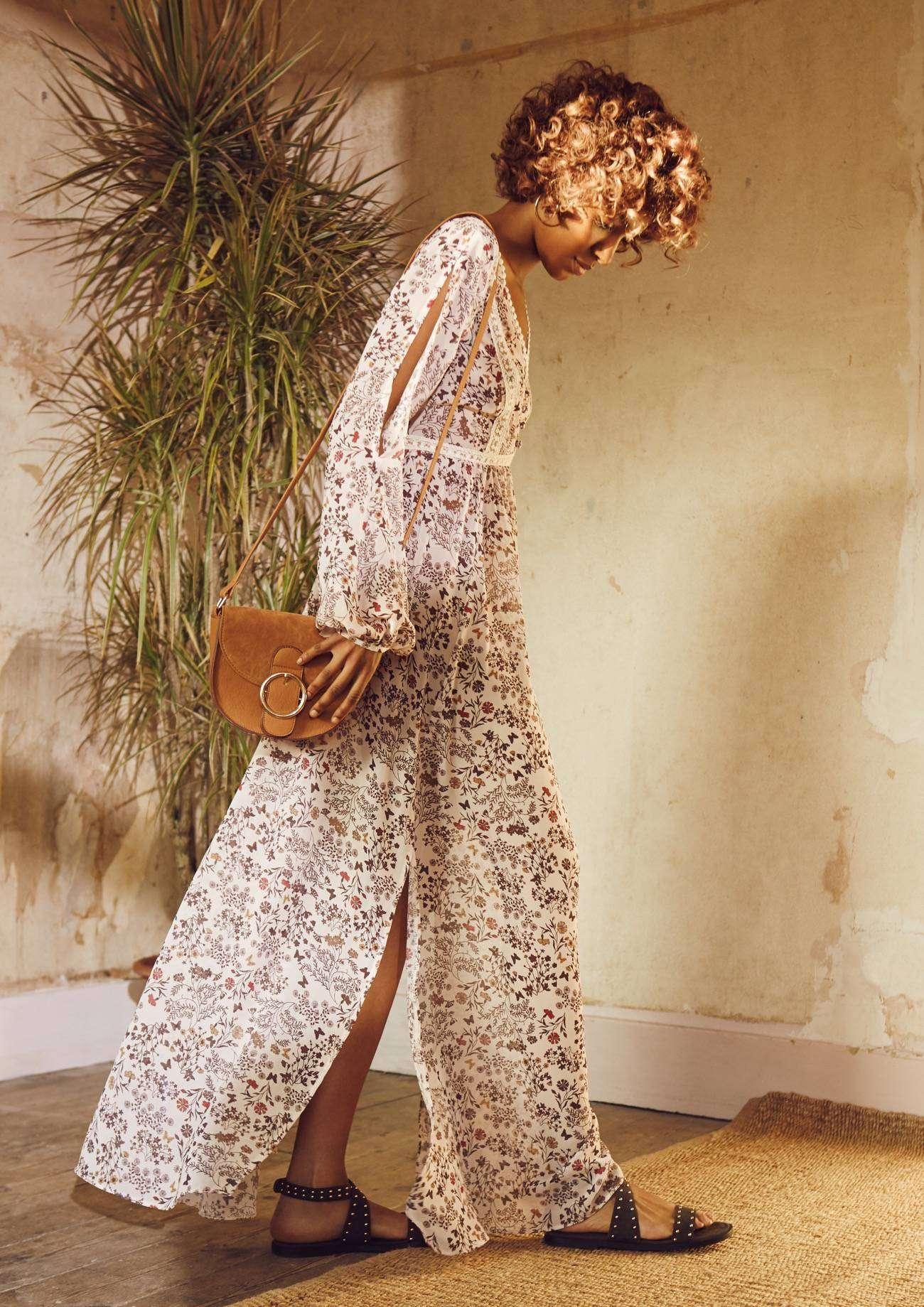 Catalogo Primark primavera - verano 2016 - vestido largo de flores