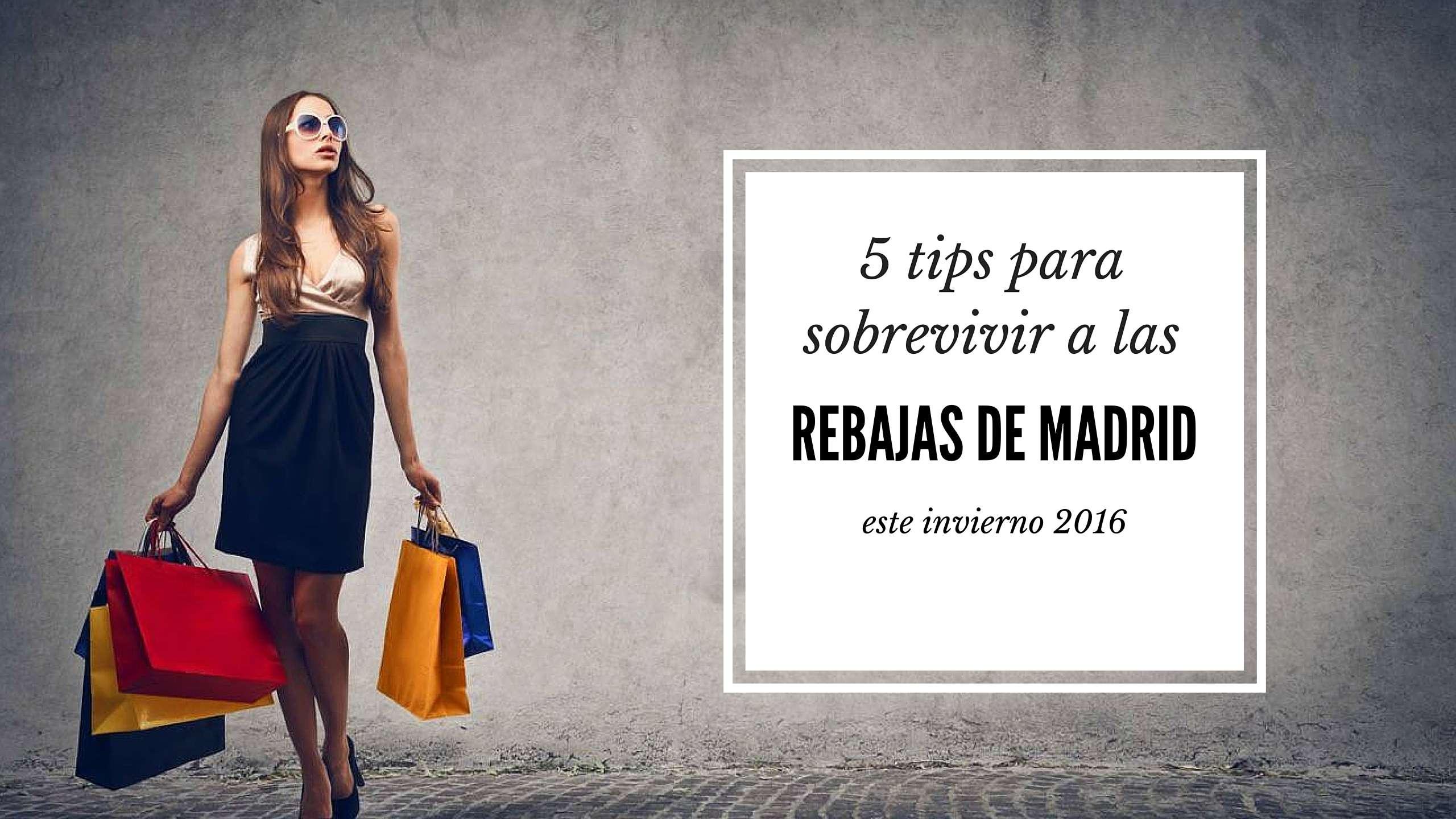 sobrevivir a las rebajas de Madrid este invierno 2016 - chica 2