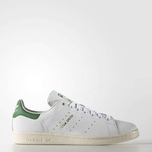 stand smith - clasica blanco y verde