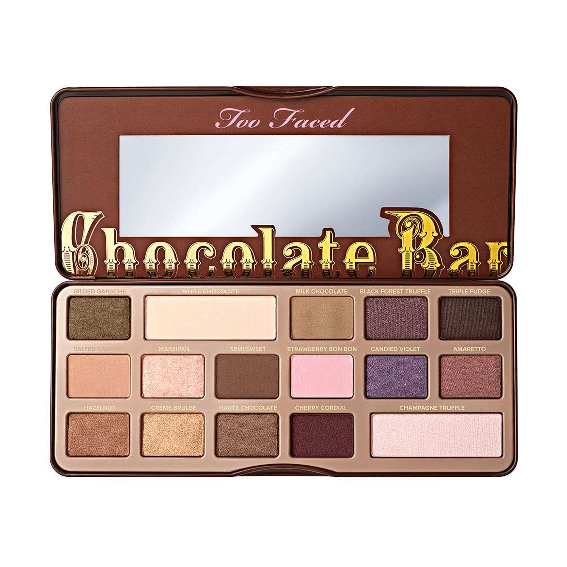 mis productos favoritos de Too faced - chocolate bar