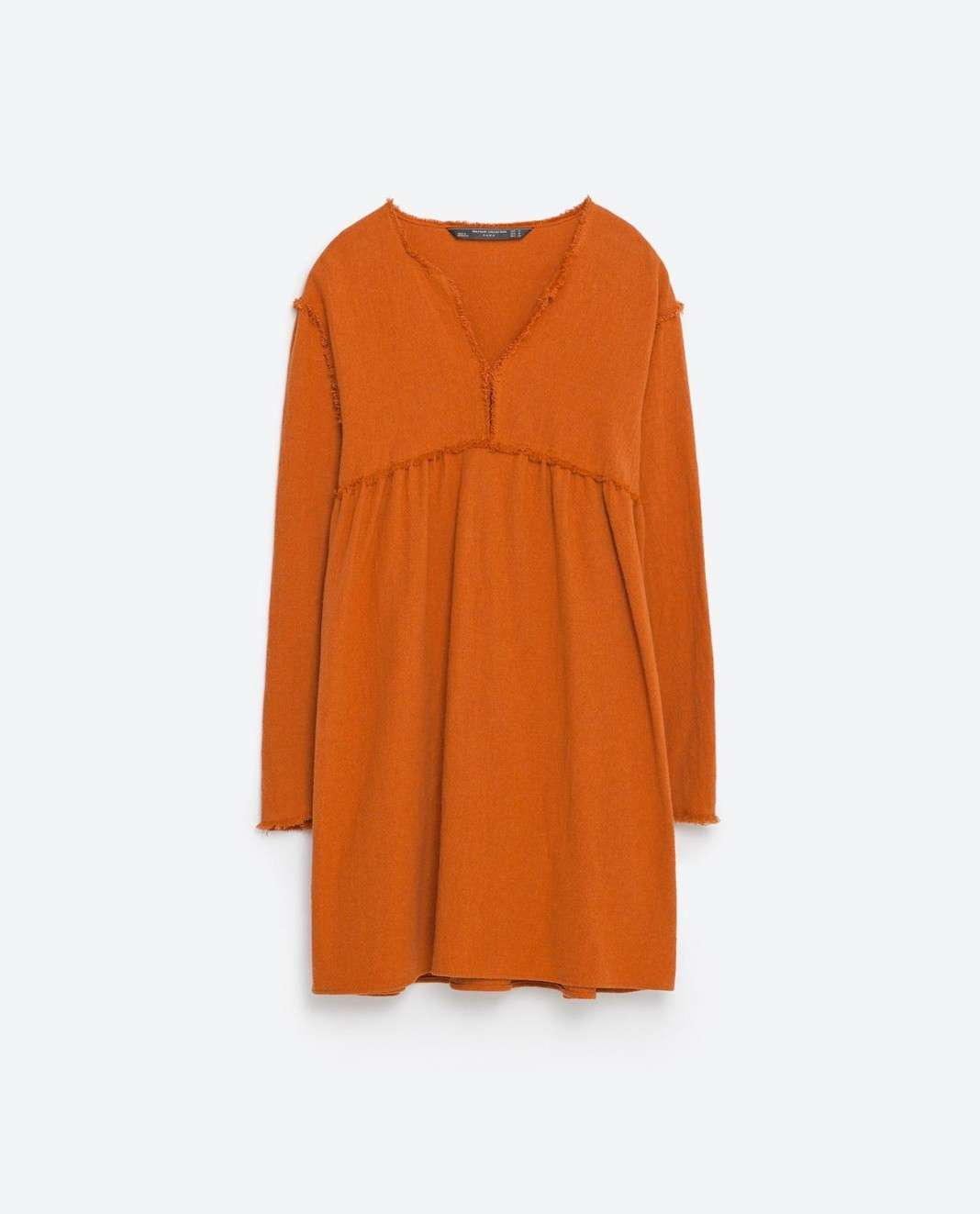 vestidos de Zara para el verano 2016 camel