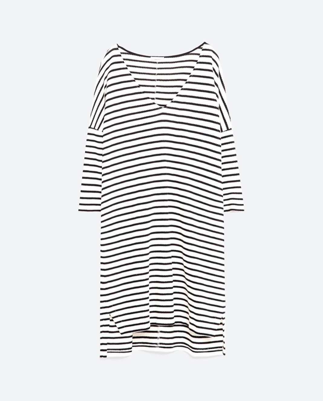 vestidos de Zara para el verano 2016 rayas