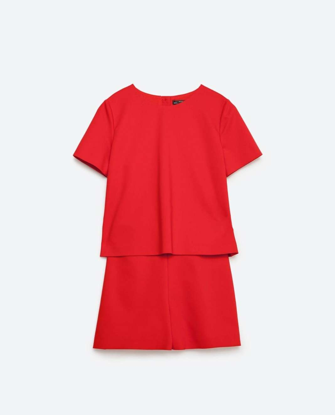 vestidos de Zara para el verano 2016 rojo
