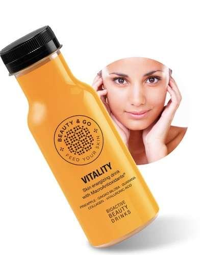 la belleza que se bebe - vitality