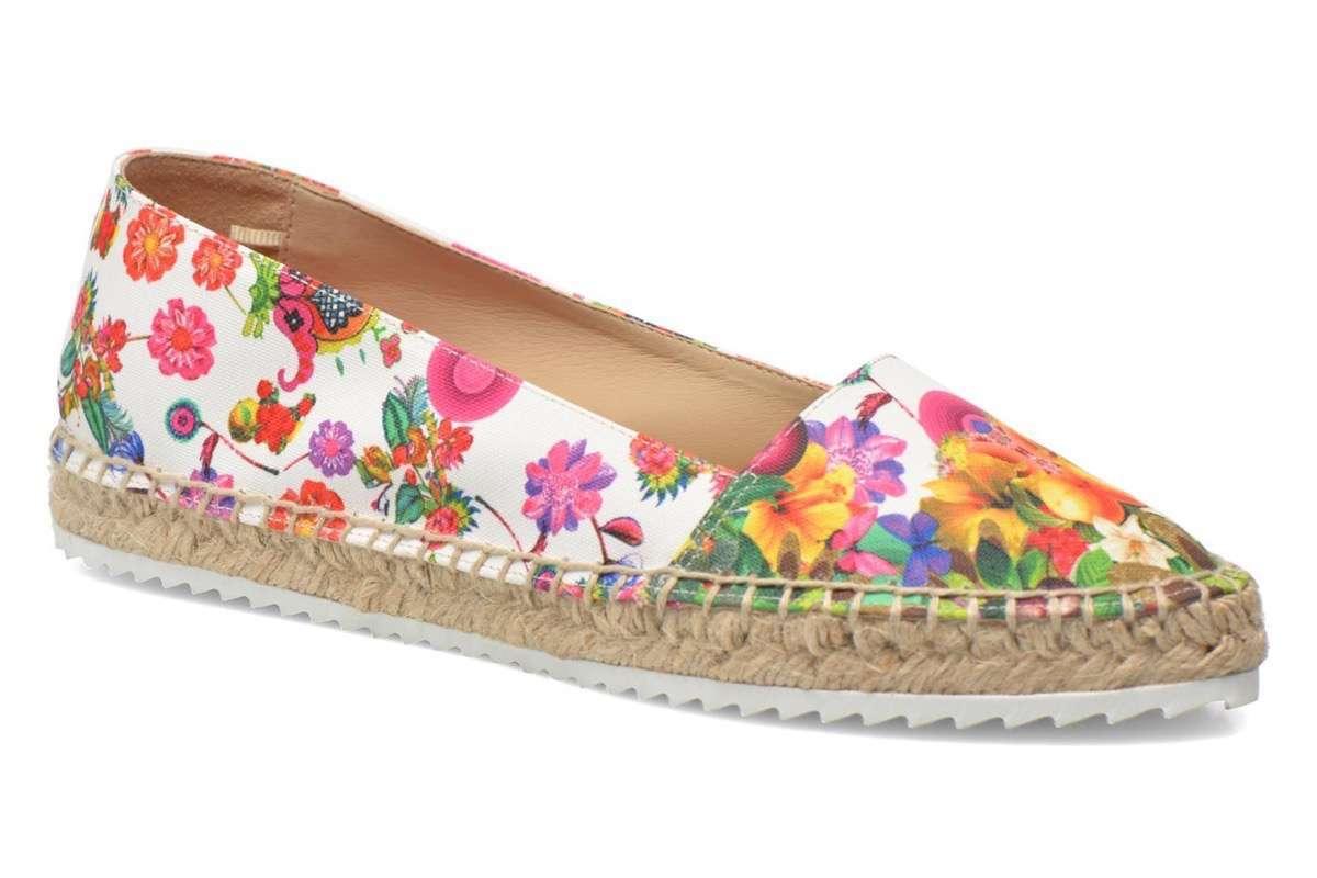 zapatos estampados alpargata flores desigual