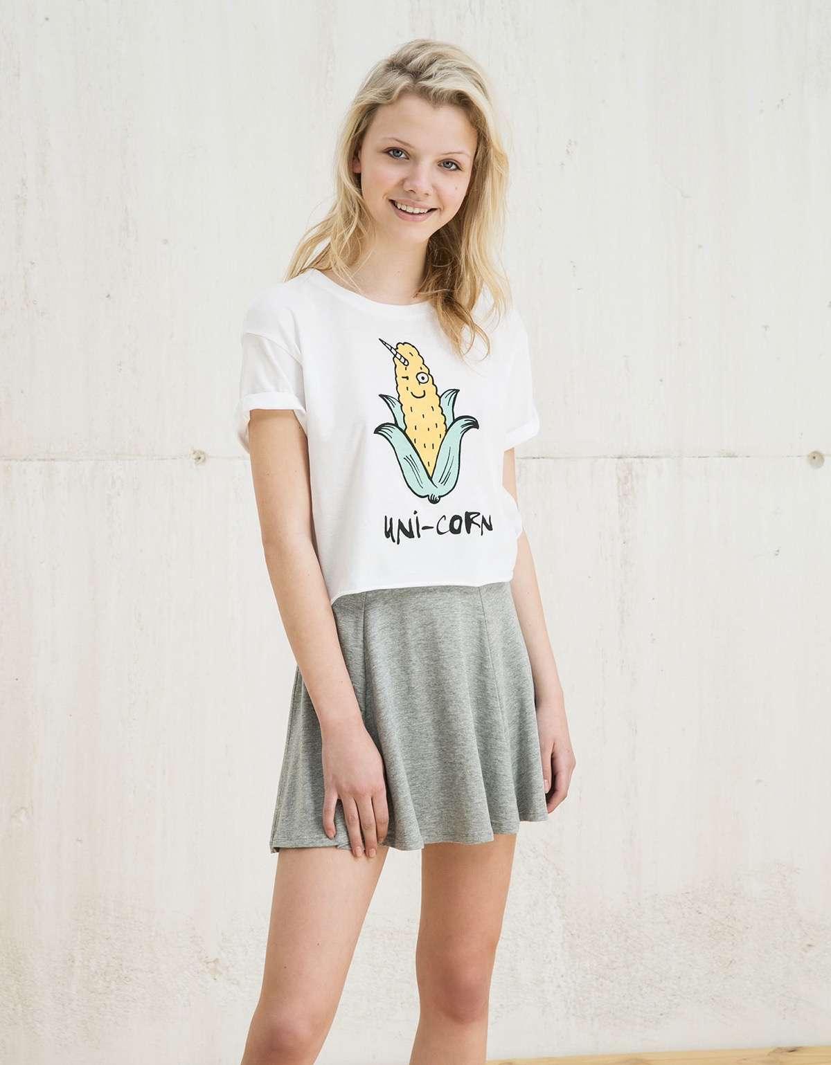 Camisetas divertidas bershka