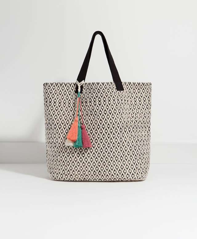 bolsas de playa 2016 - oysho