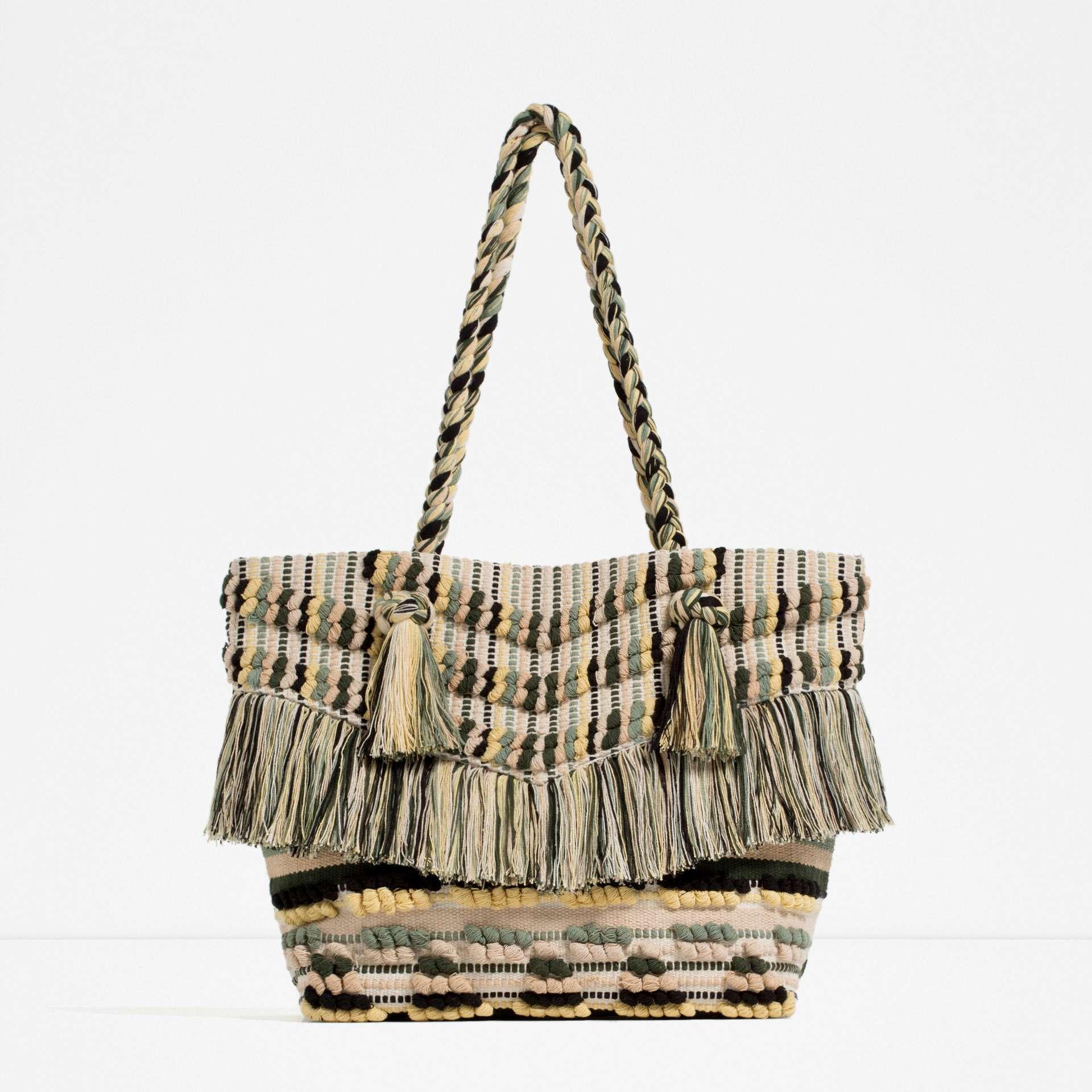 bolsas de playa 2016 - zara 2