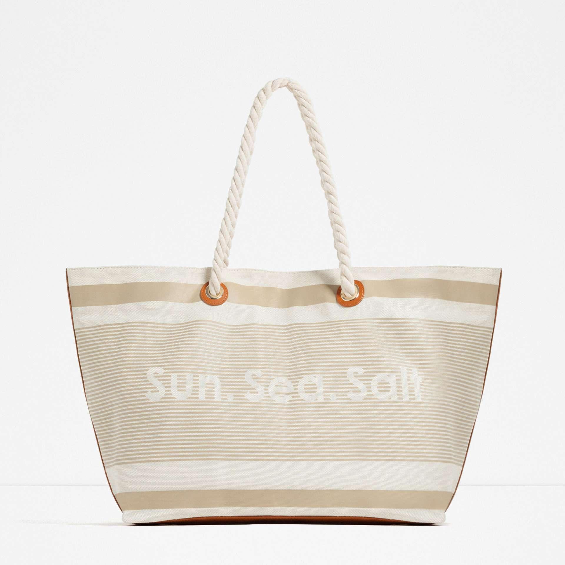 bolsas de playa 2016 - zara 3