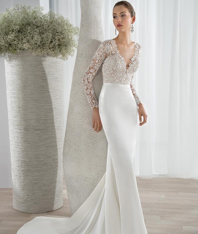 Vestidos de dos piezas para bodas