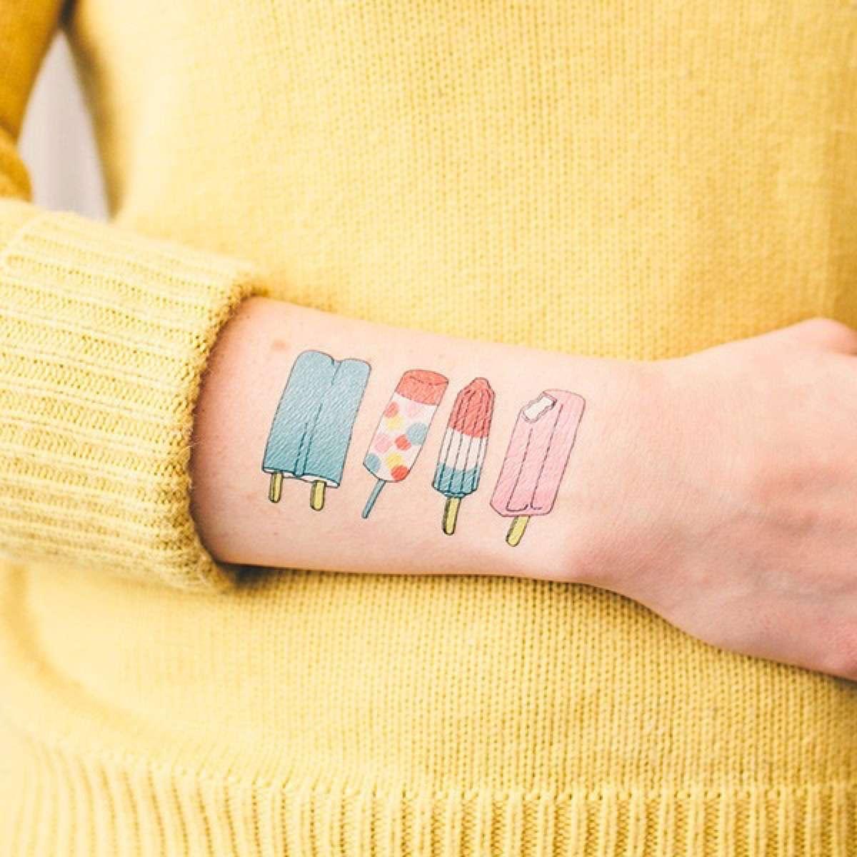tatuajes temporales para el verano