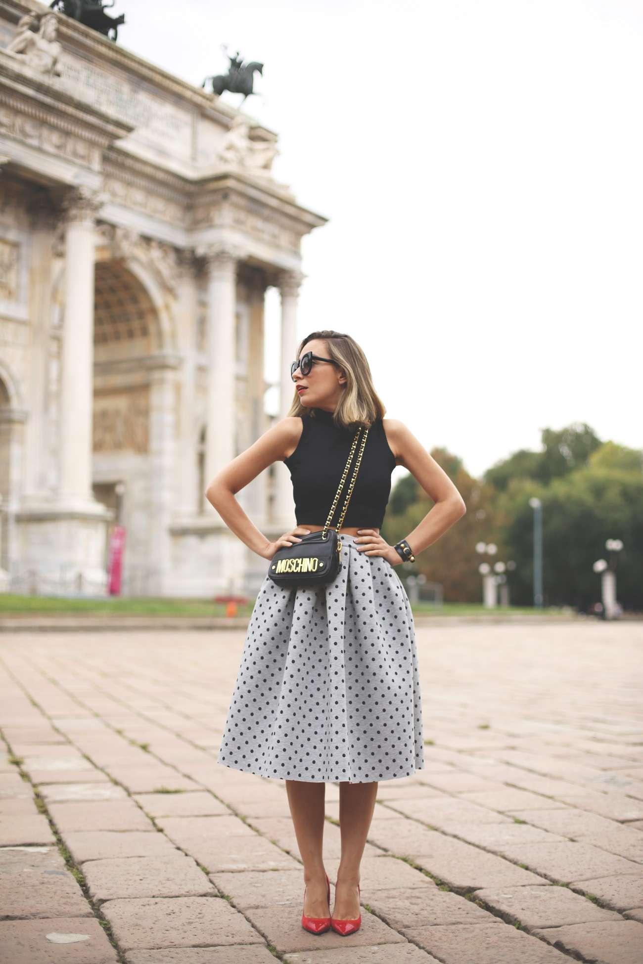 faldas de moda midi