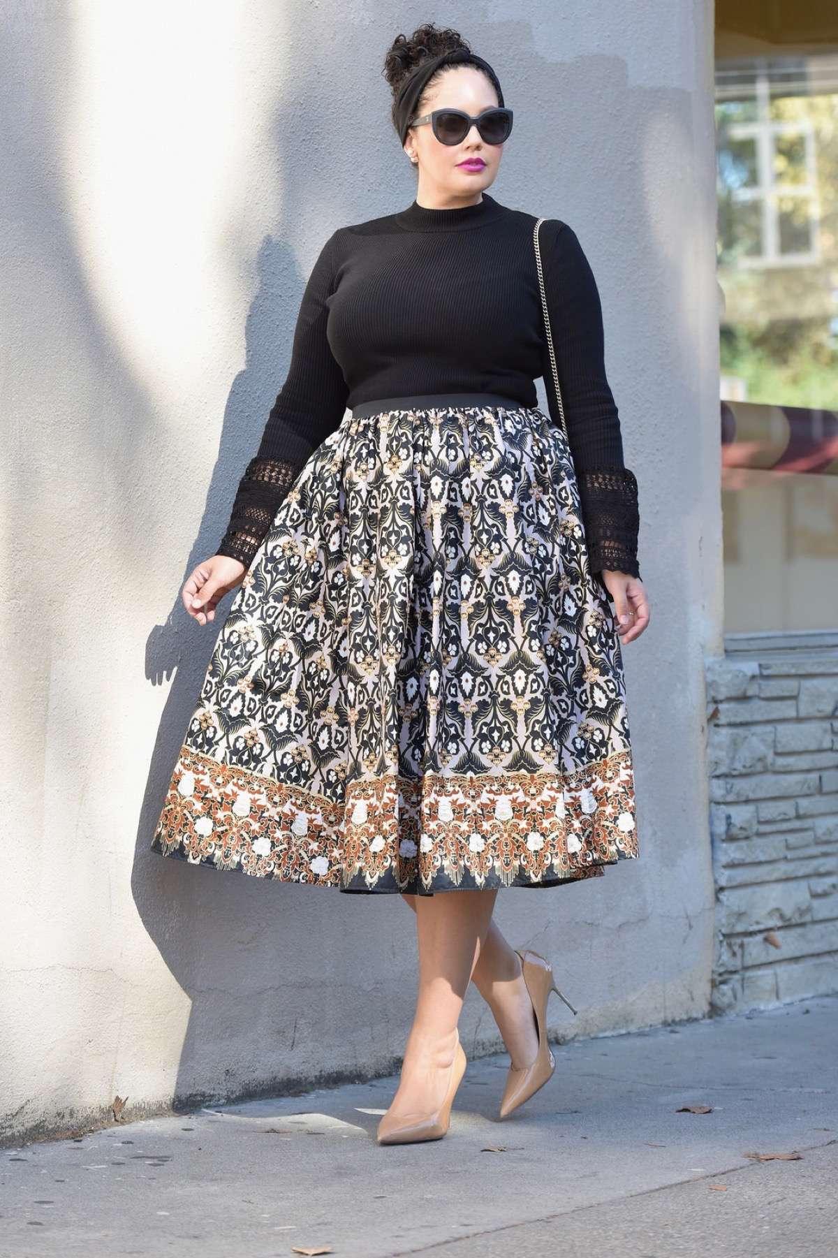 distribuidor mayorista 91950 832c2 Faldas midi: las faldas de moda aptas para llevar todo el año