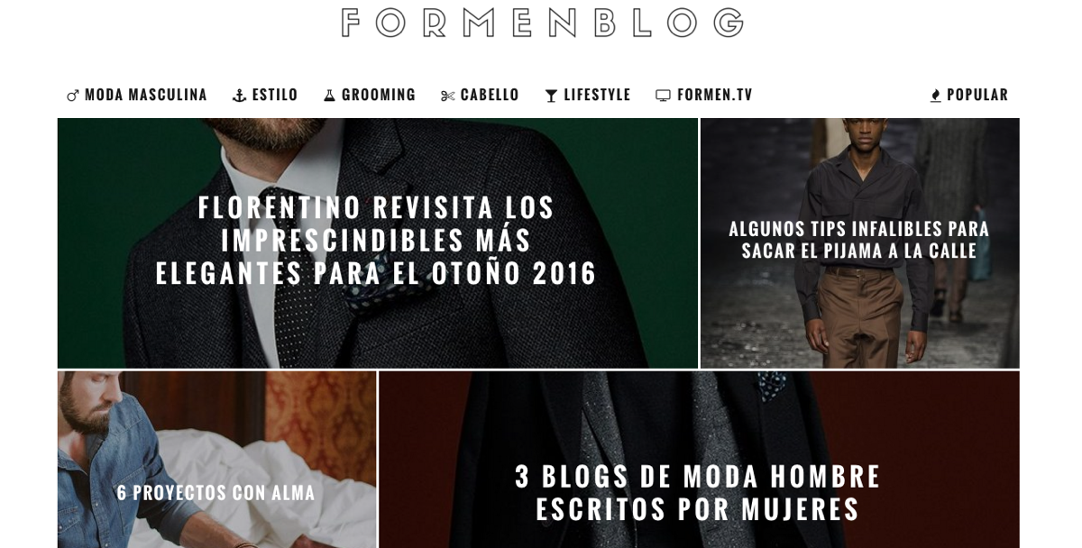 blogs de moda masculina