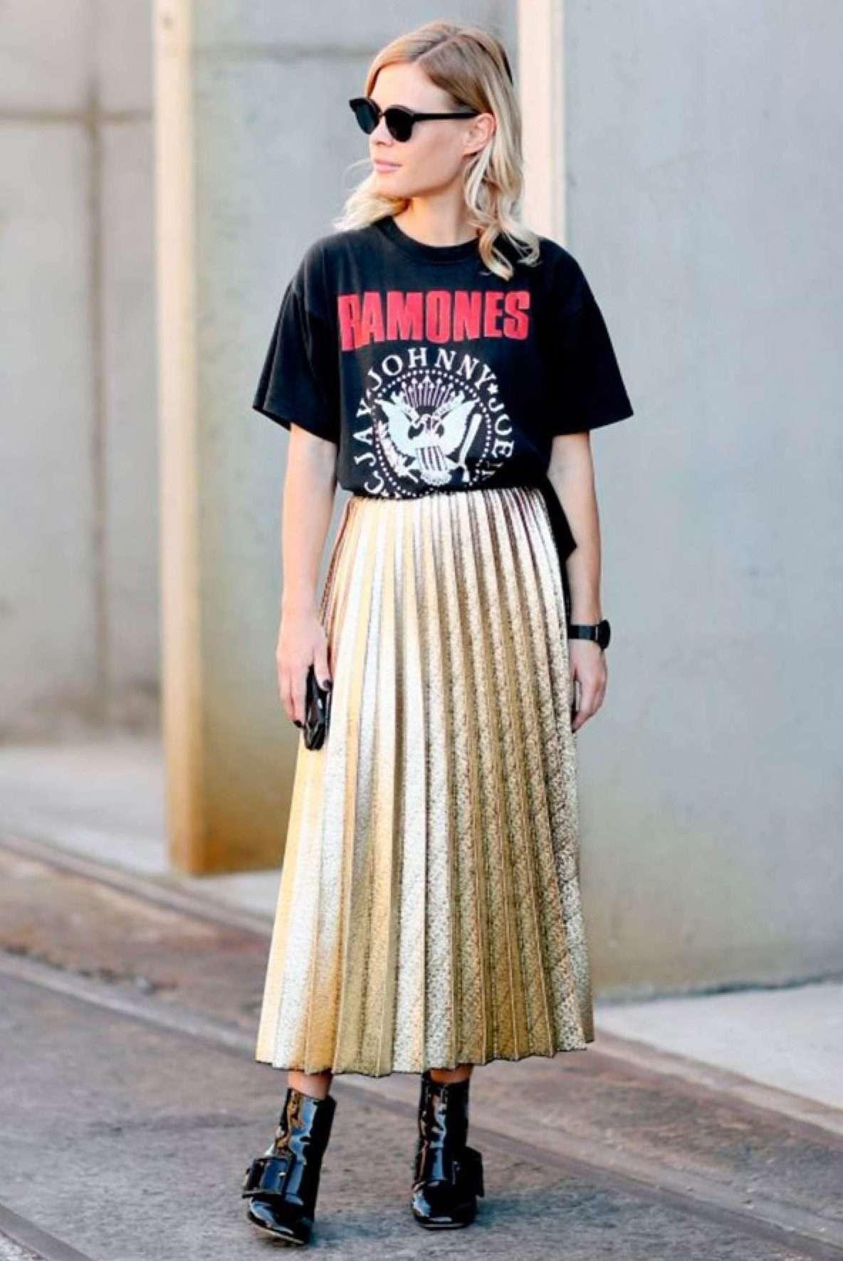 0f27932f9 Faldas midi: las faldas de moda aptas para llevar todo el año