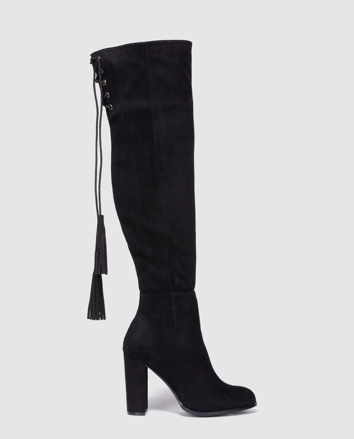 elegante en estilo diseñador nuevo y usado envío gratis Botas altas por encima de la rodilla, así las llevan las ...