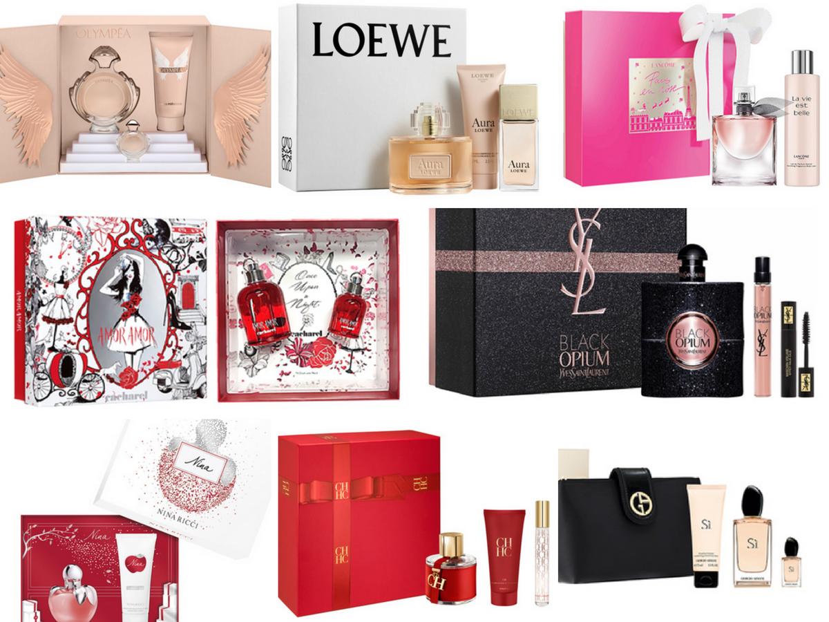 Cofres de Navidad Perfumes