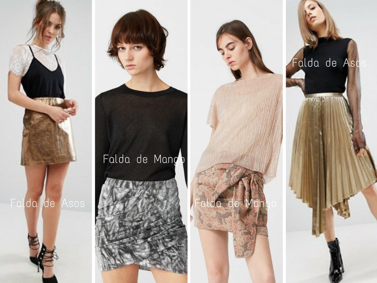 Looks de fiesta - Faldas