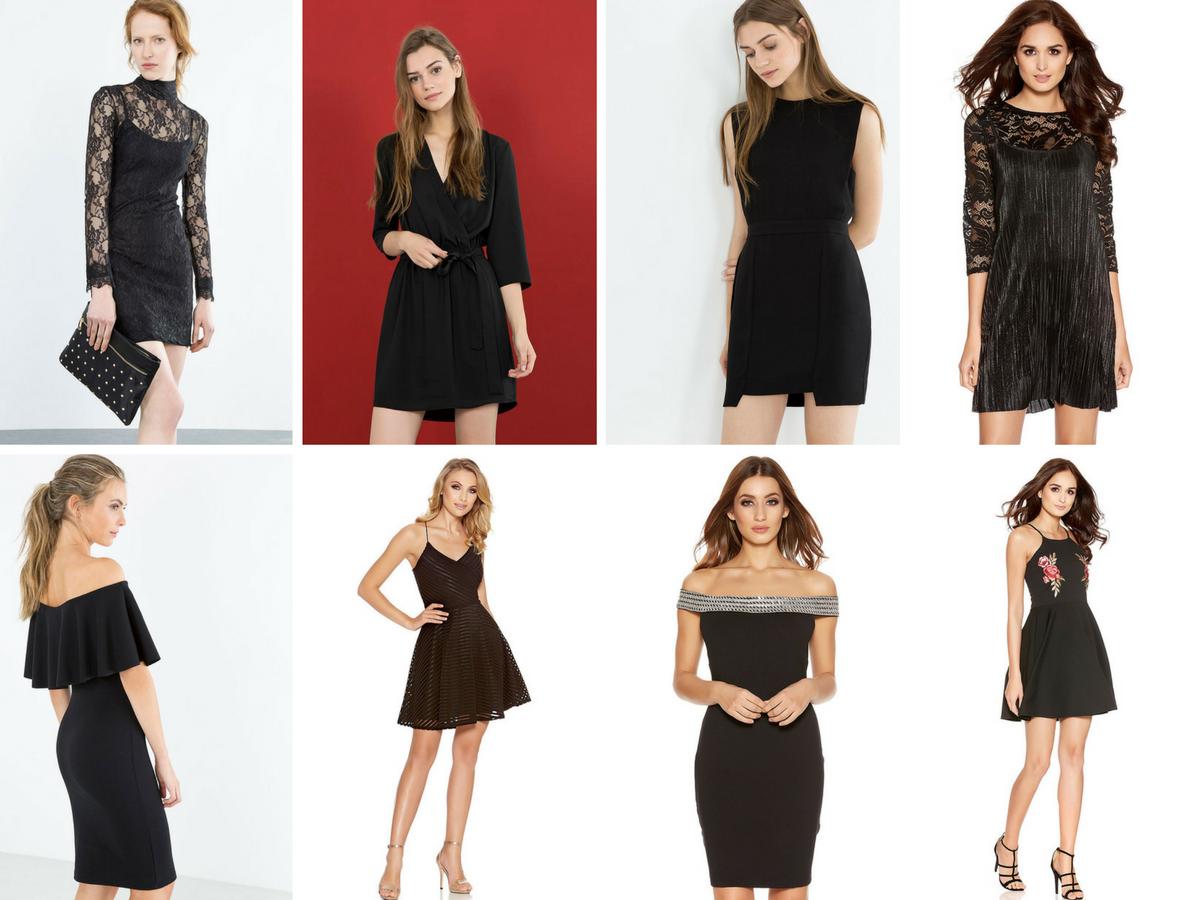 Looks de fiesta - El vestido negro