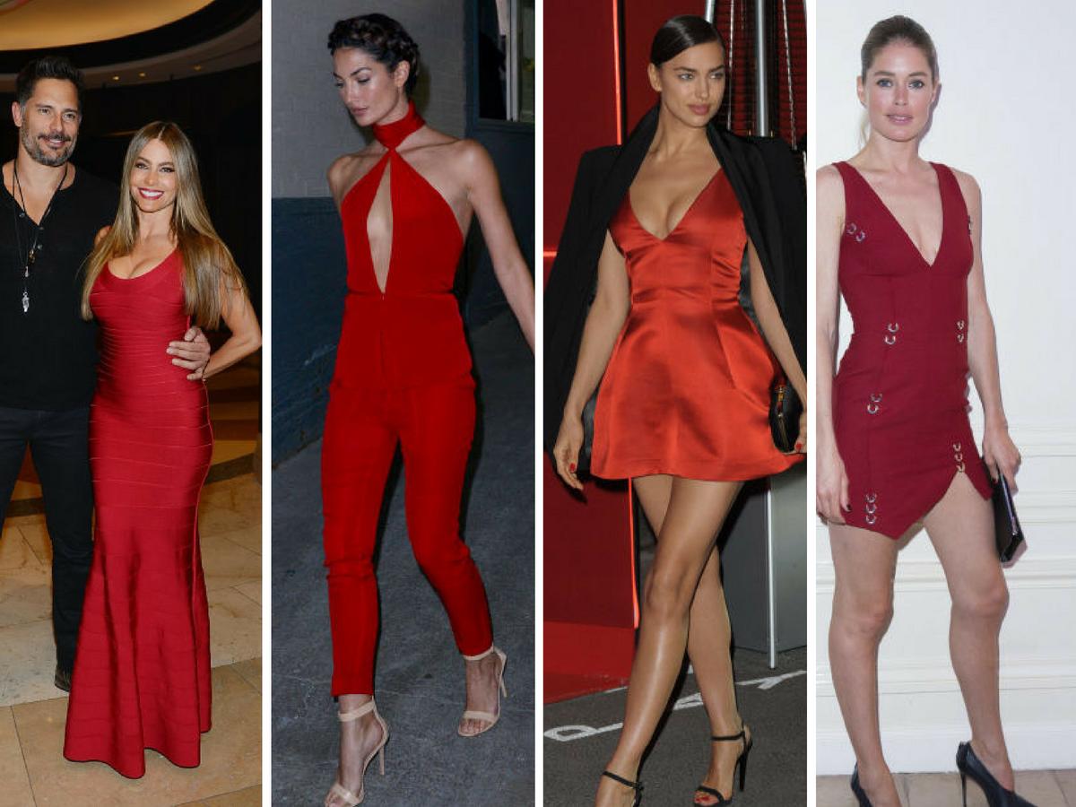 Vestidos de Nochevieja - Rojo