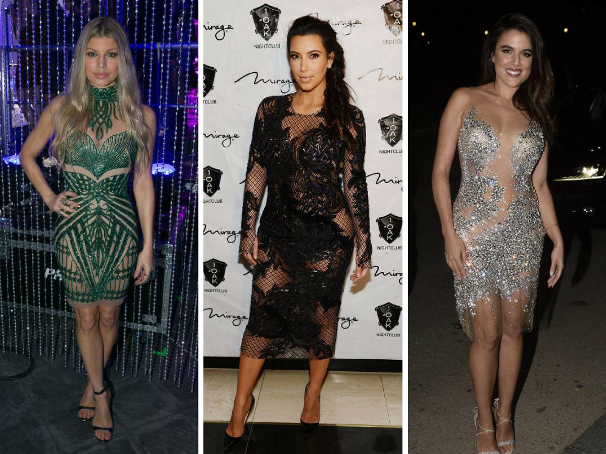 Vestidos de Nochevieja - Transparencias y brillos