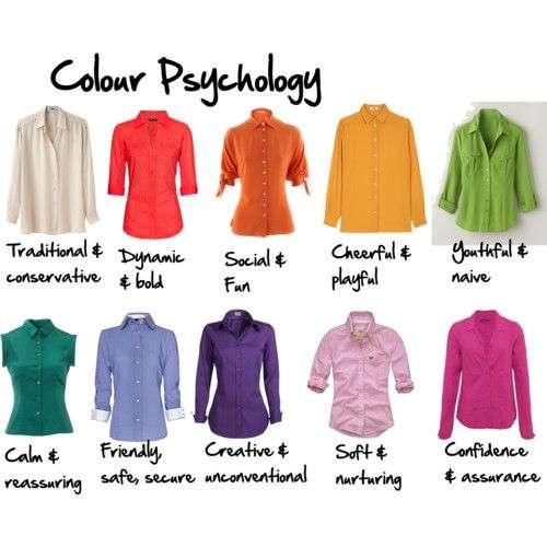 Colores para triunfar en una entrevista de trabajo