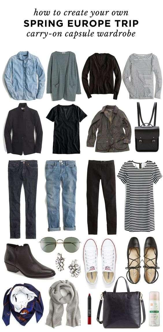 Outfits para viajar por Europa