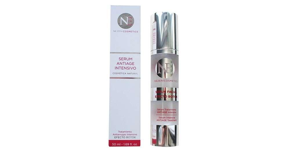 Nezeni serum efecto botox