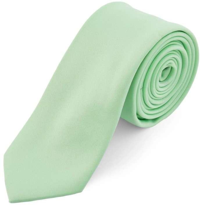 corbata verde elegante