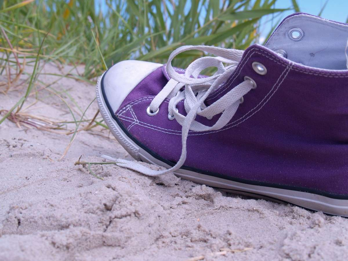 zapatos lona