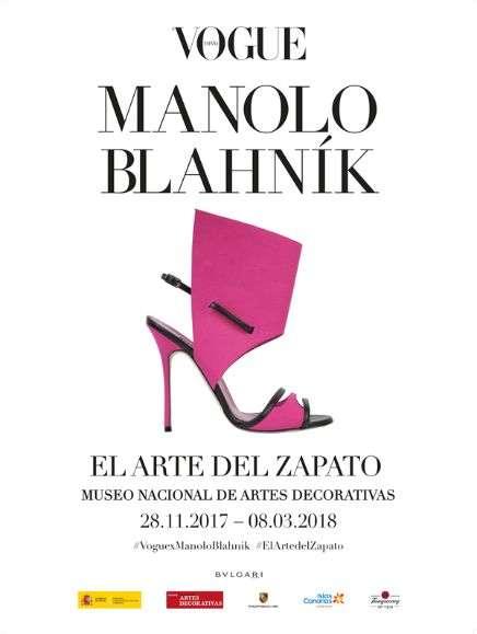 Exposición de Manolo Blahník