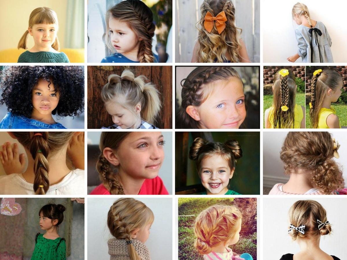 20 Peinados Para Ninas 2018 Las Mas Guapas Del Cole