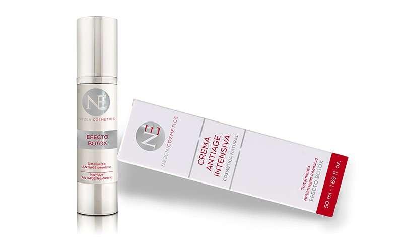 Crema antiarrugas intensiva nezeni cosmetics
