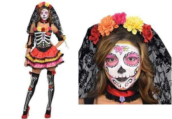 Trucos de moda y maquillaje de miedo