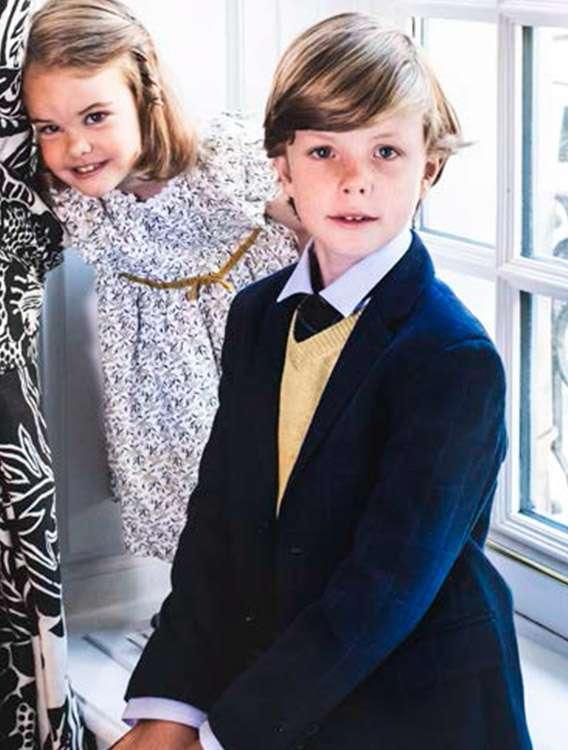 Outfits navideños para niños