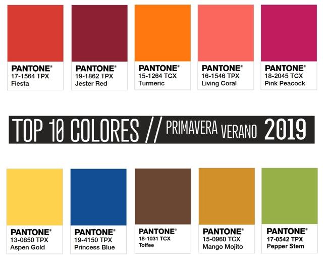 Colores 2019