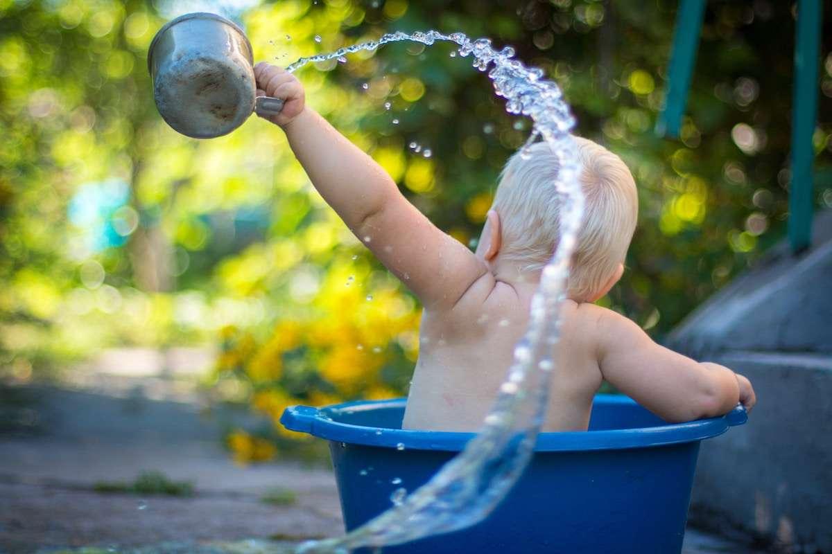 Cuidar el cabello de los niños