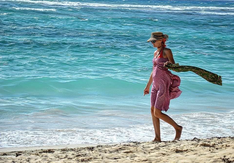 belleza en la playa