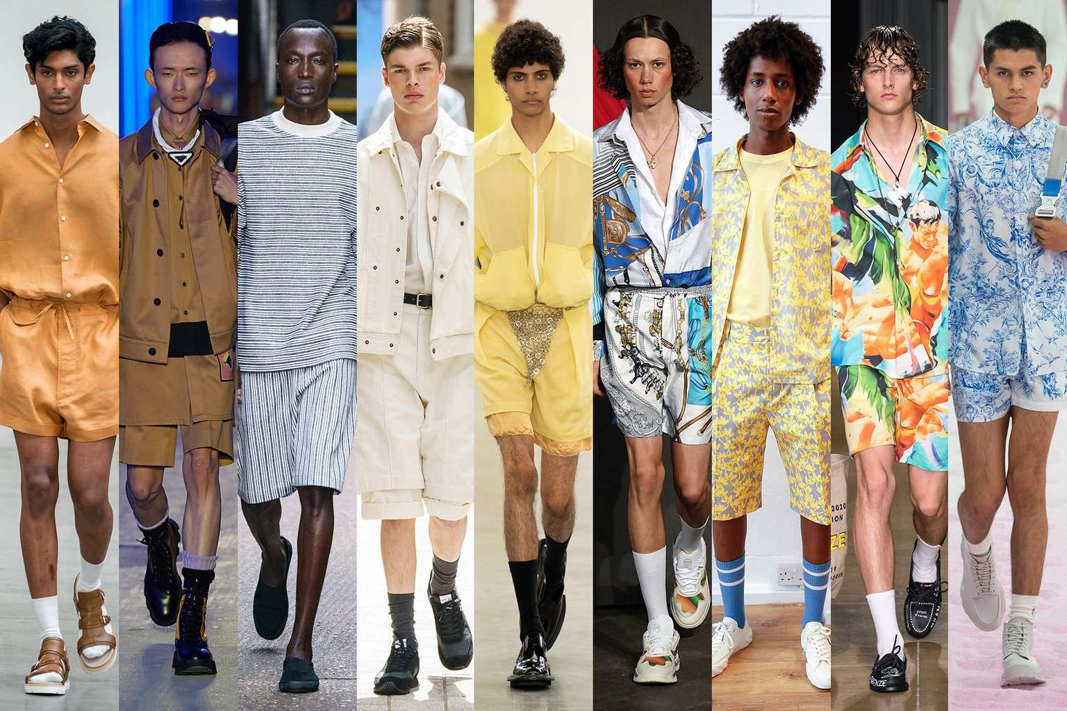 Moda masculina primavera verano 2020