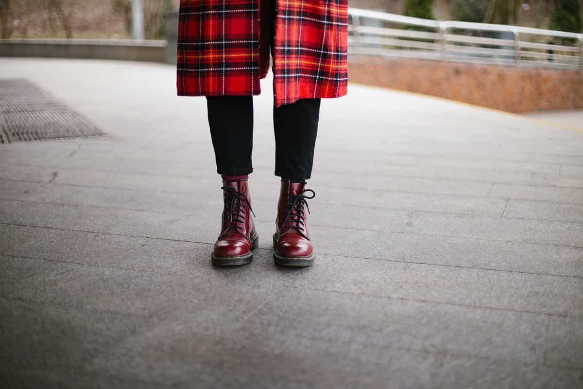 mujer botas dr martens