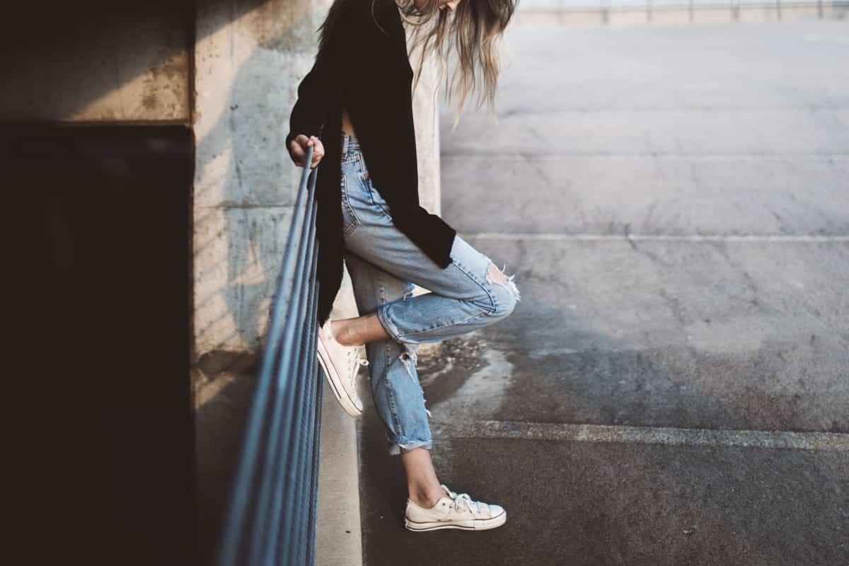 Parecer más alta con la ropa